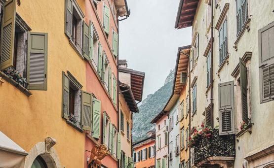 Historische Häuser Riva del Garda