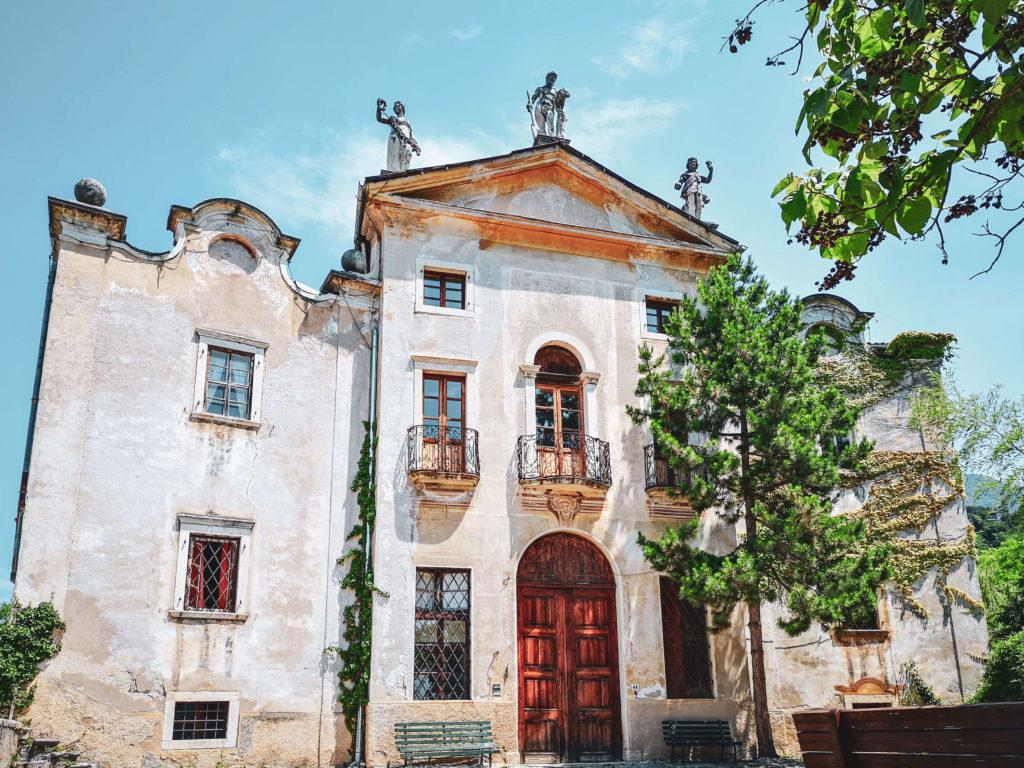 Villa Bertagnolli Vorderansicht