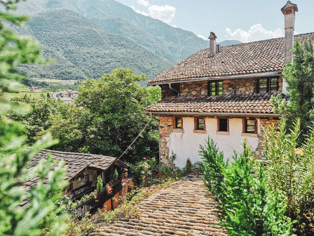 Villa Bertagnolli Bauernhaus Ausblick