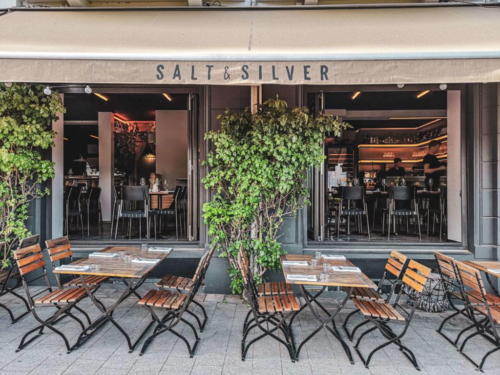 Terrasse Salt and Silver St. Pauli Hamburg