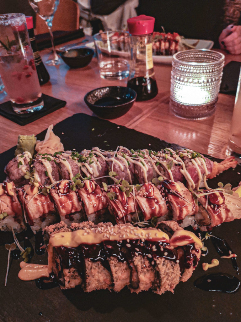 Fusion-Kitchen und Sushi im Nakama Hamburg