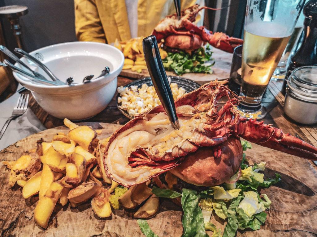 Lobster Burger im Brian's Steak & Lobster