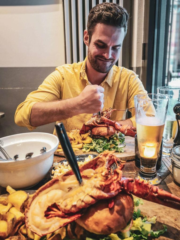 Kalifornien meets Skandinavien im Brian's Steak & Lobster