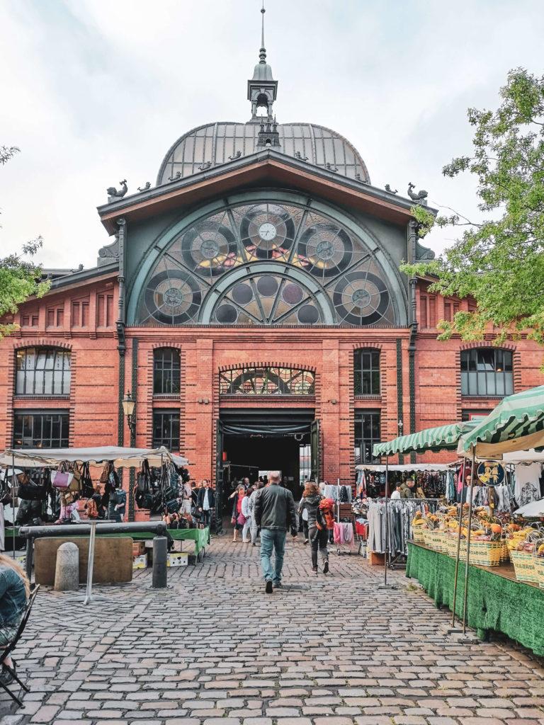 Fischauktionshalle Hamburger Fischmarkt
