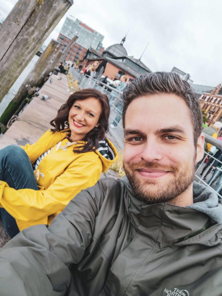 Florian und Alexandra Hamburger Fischmarkt