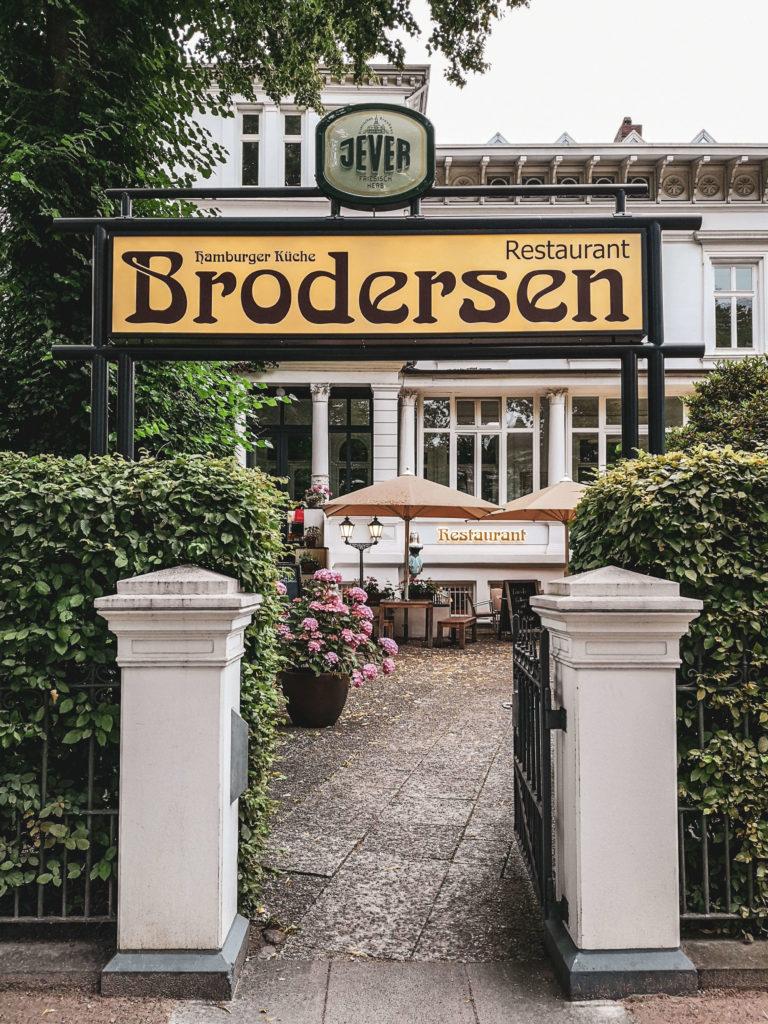 Eingang Brodersen Hamburg