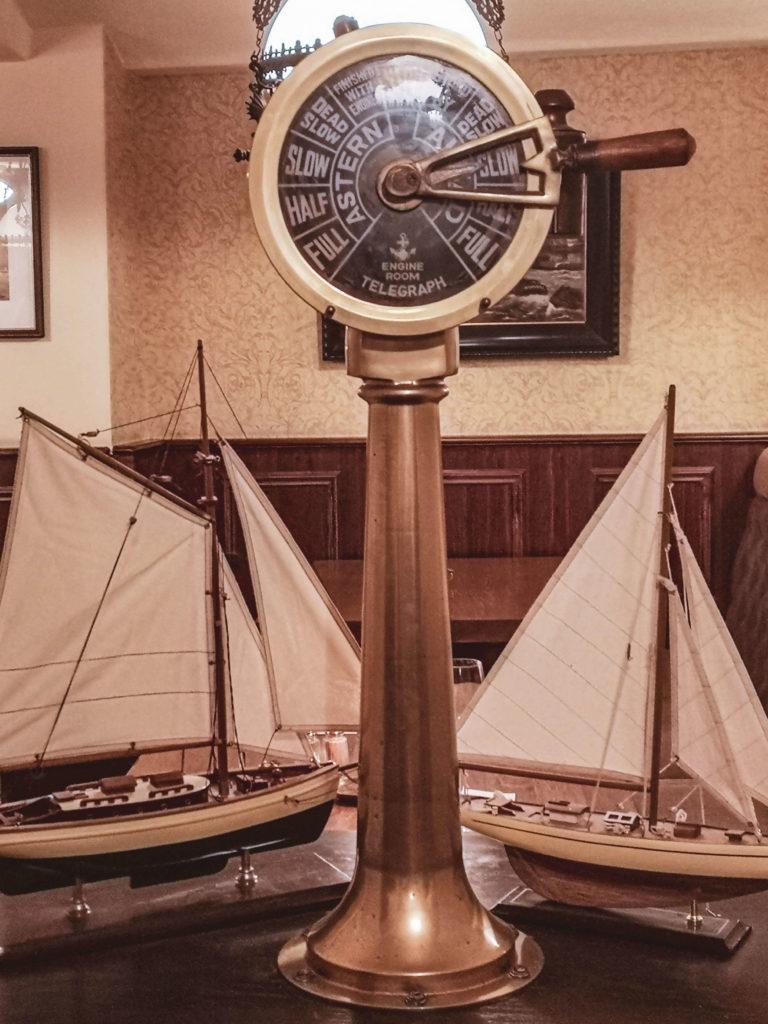 Maritime Einrichtung Restaurant Brodersen