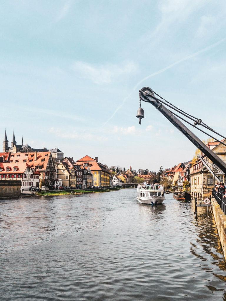 Bamberg Am Kranen Wasser
