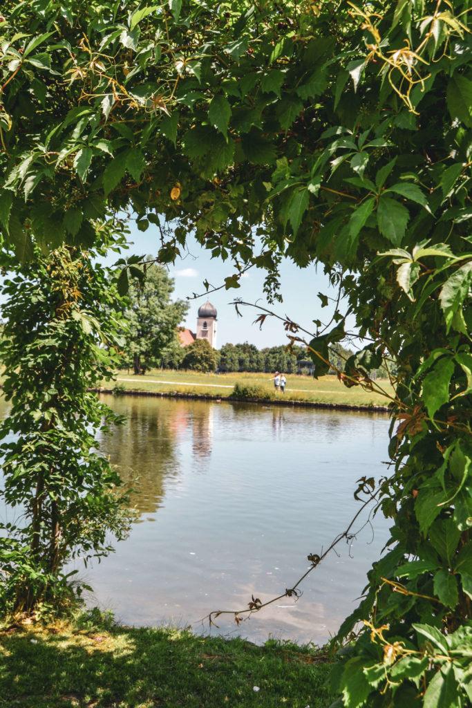 Schloss Blutenburg See