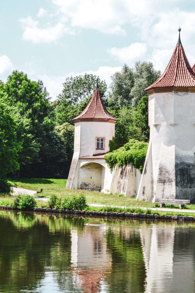 Schloss Blutenburg Türme