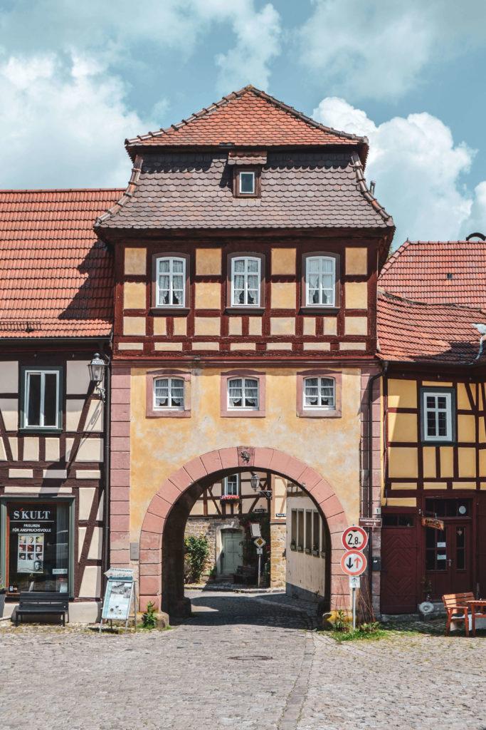 Unfinder Tor Königsberg Bayern