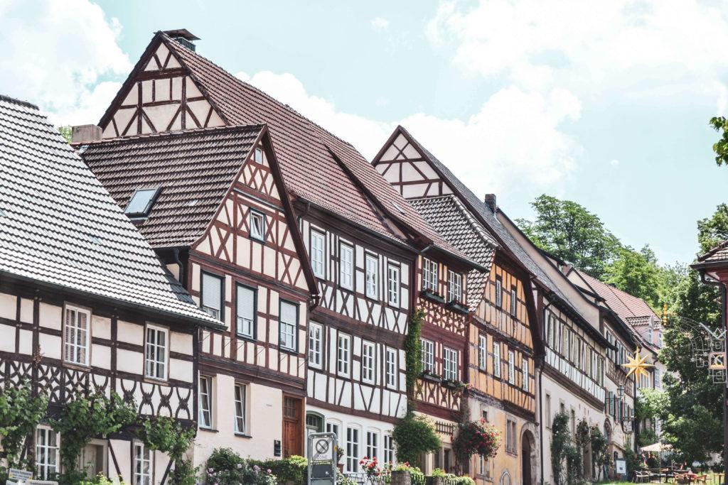 Der Salzmarkt in Königsberg in Bayern