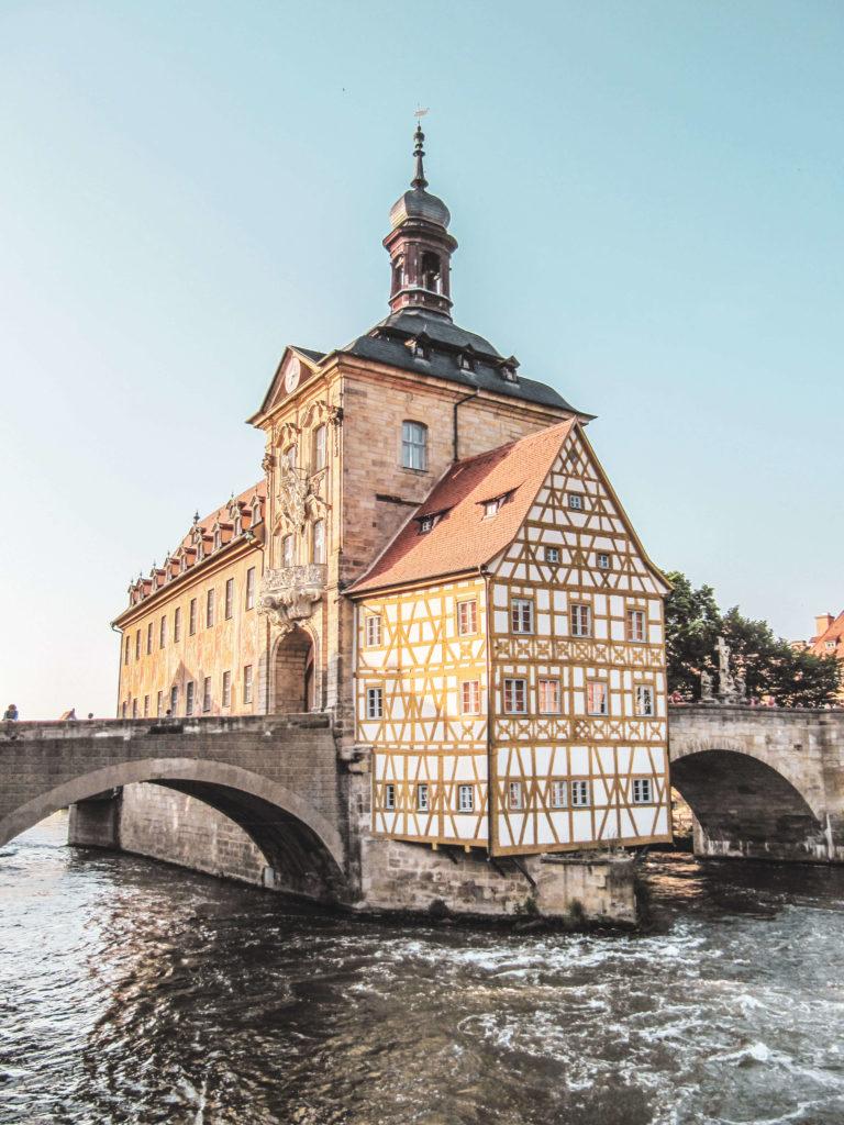 Bamberg Altes Rathaus Weltkulturerbe
