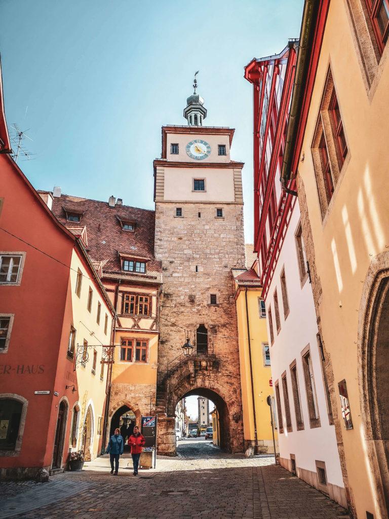 Galgentor Rothenburg ob der Tauber Abendlicht