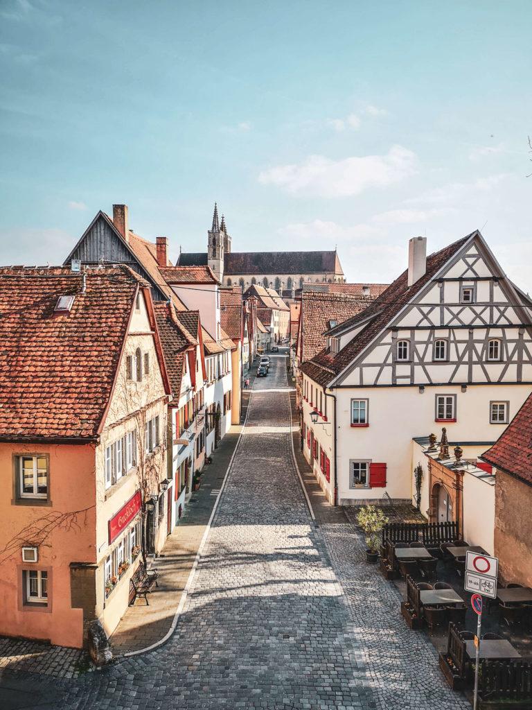 Abendstimmung Rothenburg ob der Tauber Kirche St. Jakob
