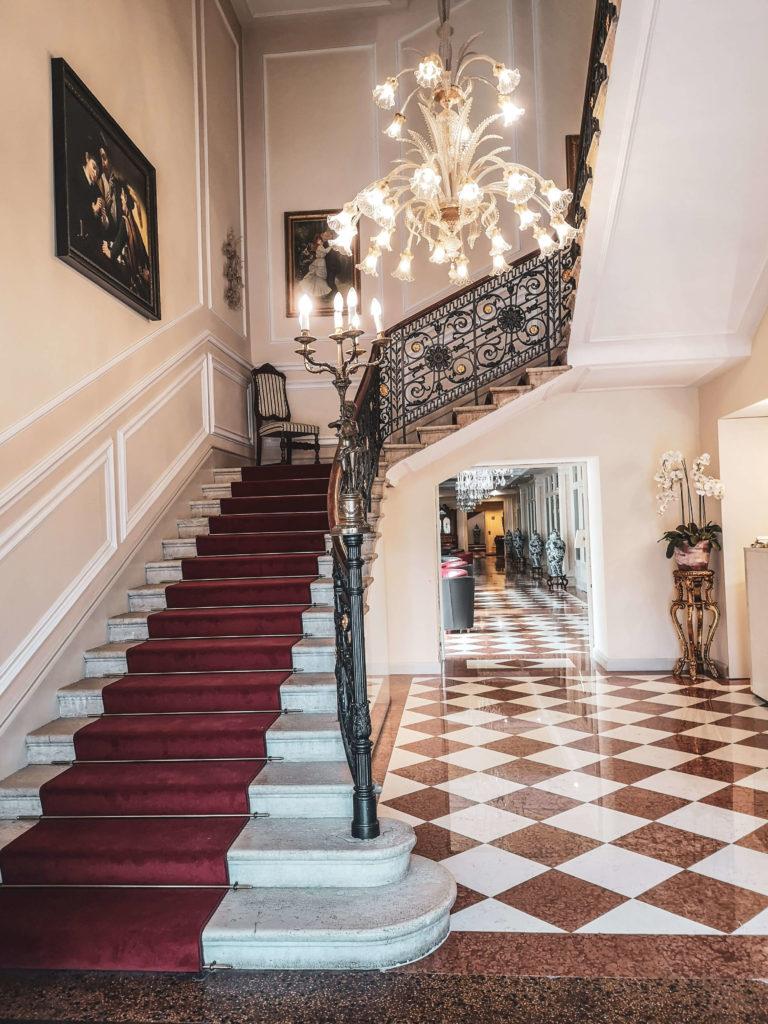 Eingangshalle Grand Hotel Liberty Riva del Garda