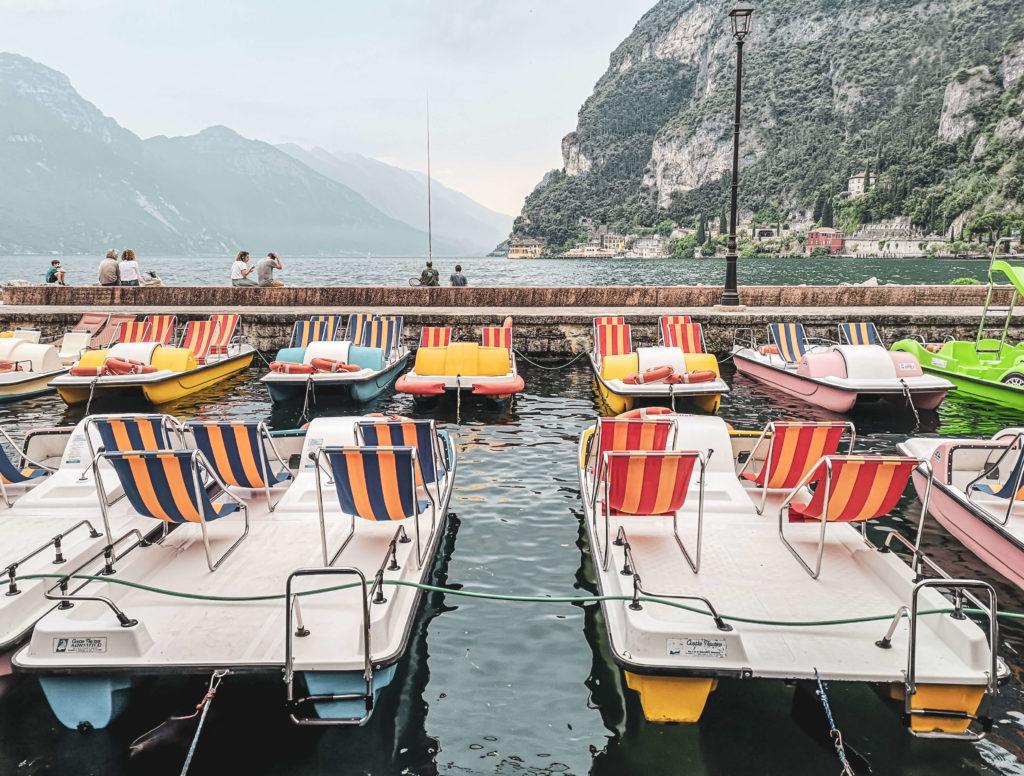 Riva del Garda Tretboote