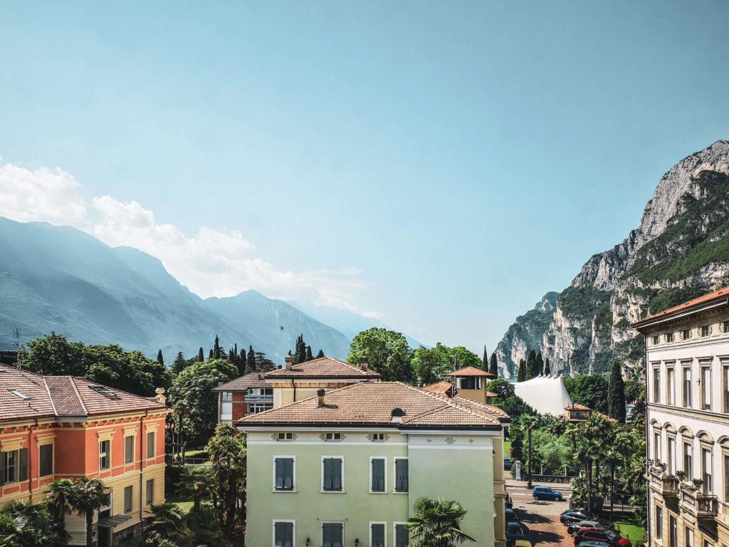 Aussicht Riva del Garda