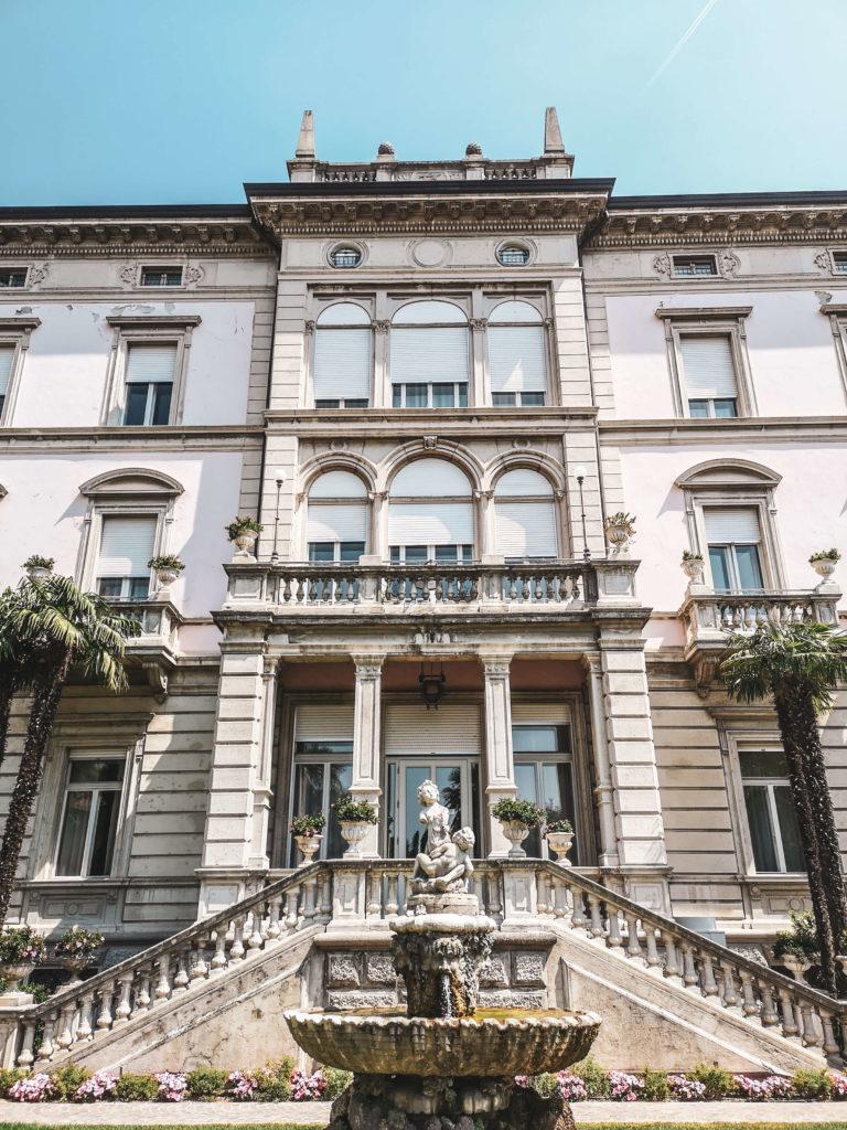 Grand Hotel Liberty Riva del Garda frontal
