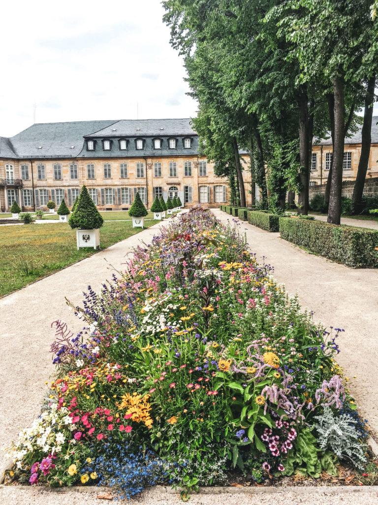 Blumenbeet Hofgarten Bayreuth
