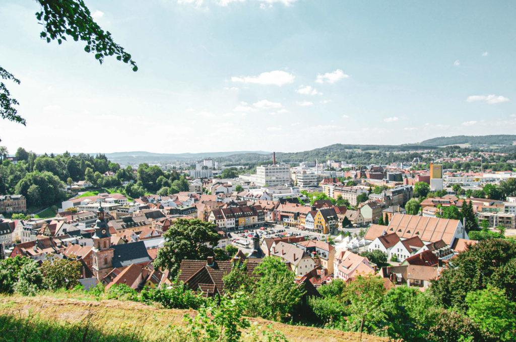Ausblick Kulmbach