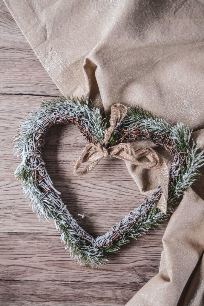 Weihnachtskranz Herz