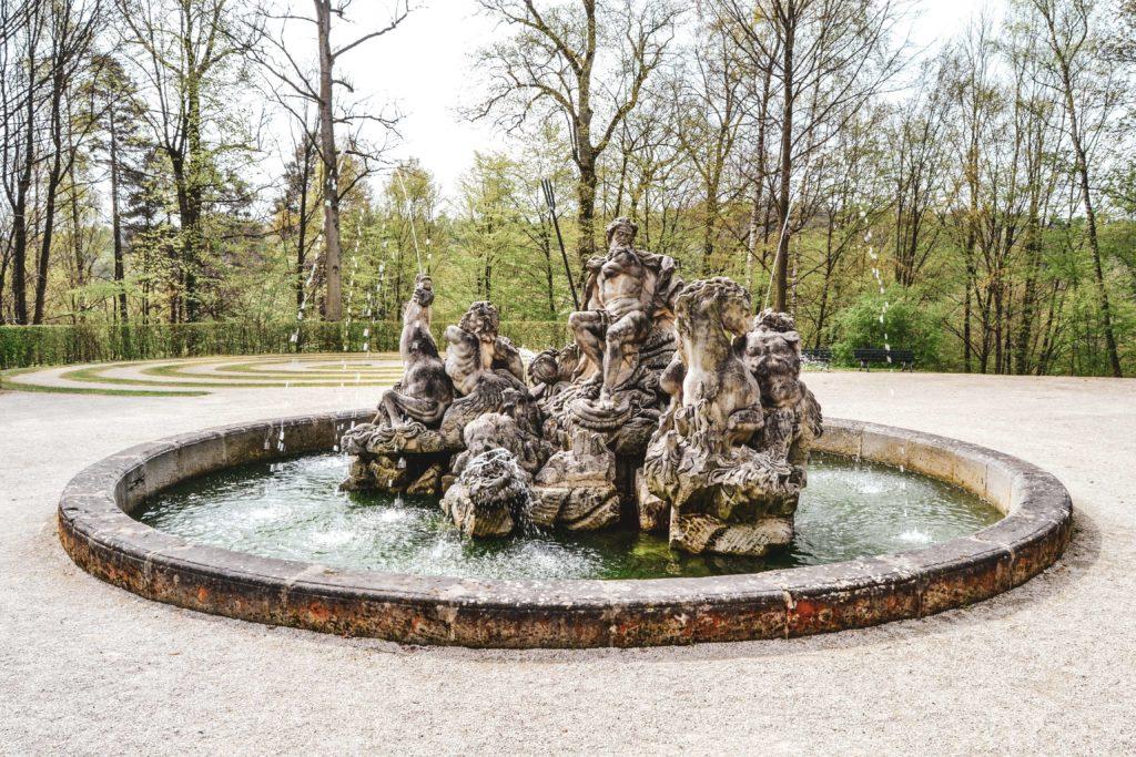 Wasserspiele Schloss Fantaisie