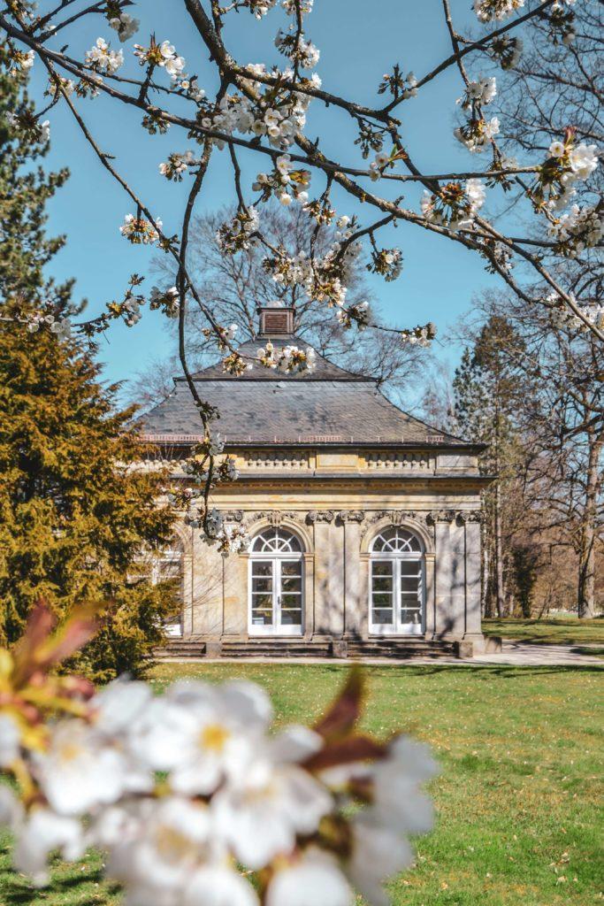 Gartenpavillon Schloss Fantaisie