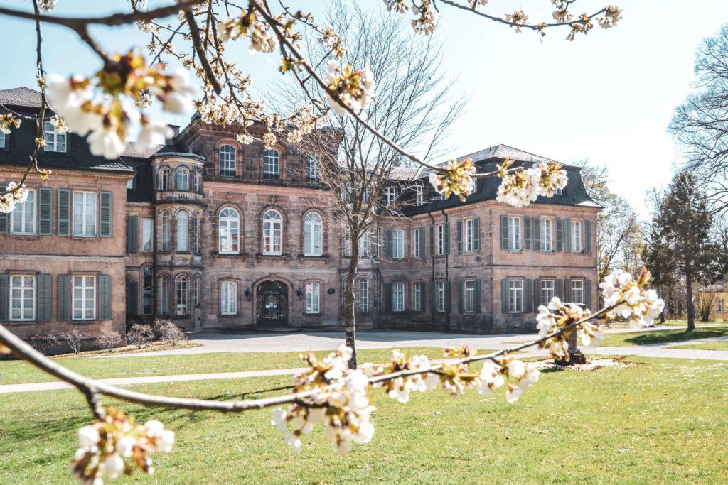 Schloss Fantaisie im Fruehling