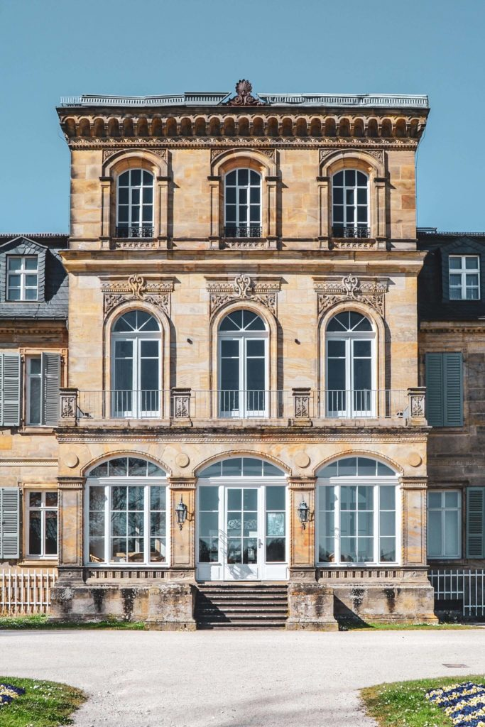 Schloss Fantaisie Rueckansicht
