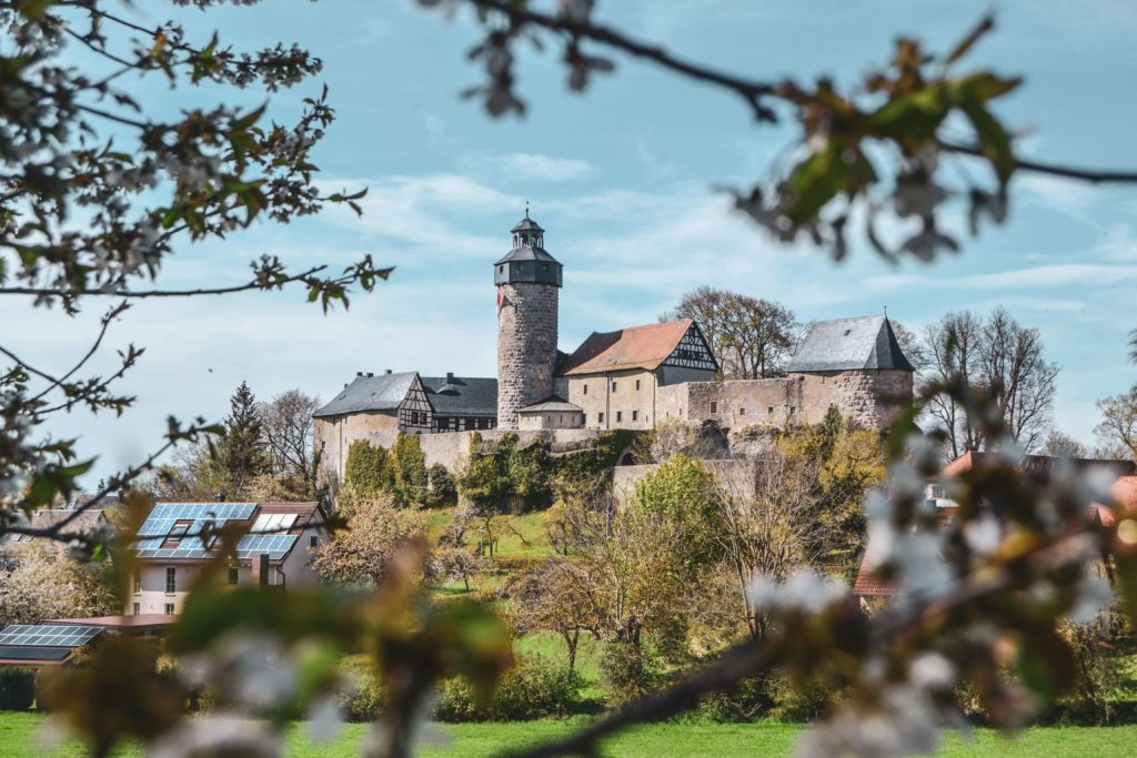 Burg Zwernitz Frühling Sanspareil