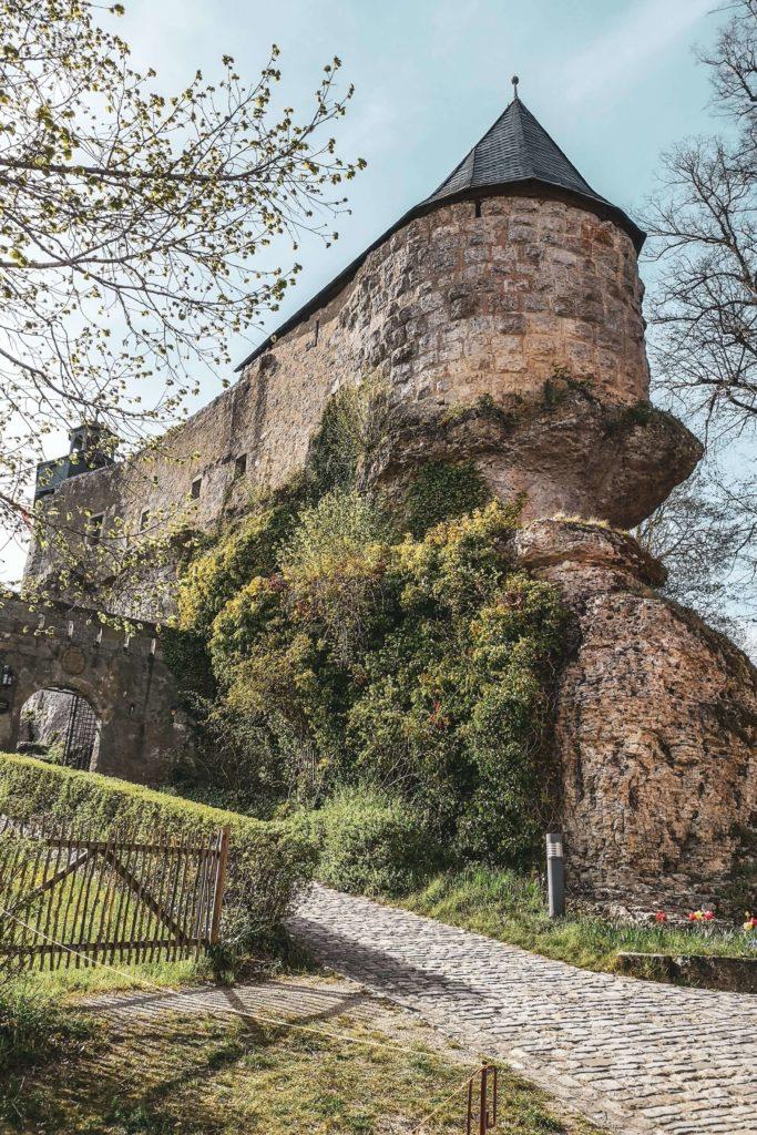 Burg Zwernitz auf Felsformation