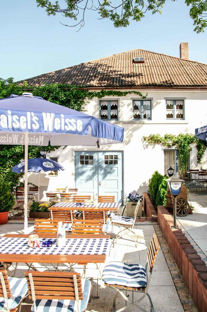 Biergarten Gaststaette Maisel
