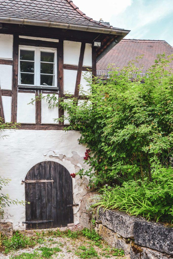 Burghof Schloss Unteraufseß