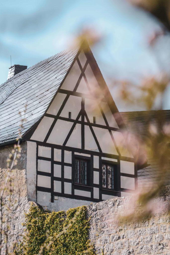 Burg Zwernitz Fachwerkhaus