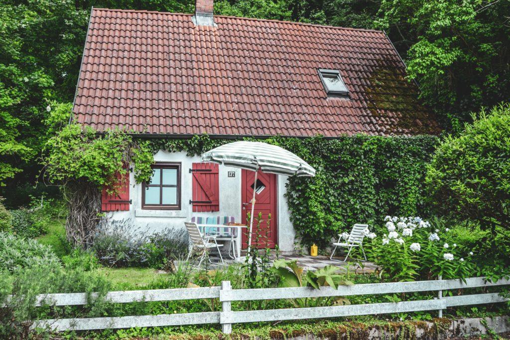 Kleines Haus in Aufsess, Oberfranken