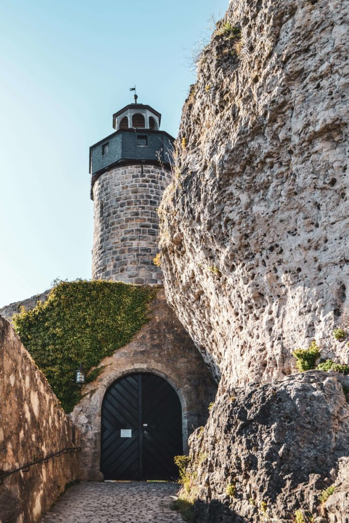 Burg Zwernitz Eingang Felsen