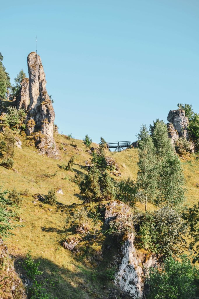 Felsenlandschaft Fraenkische Schweiz