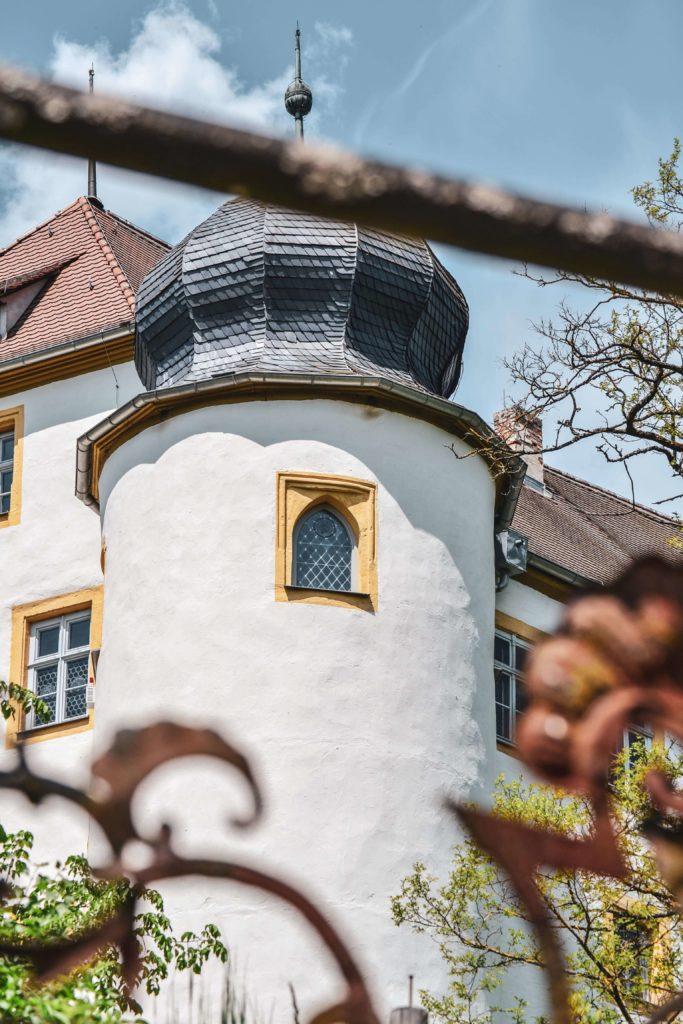 Maerchenschloss Aufseß Burgenstraße Fraenkische Schweiz