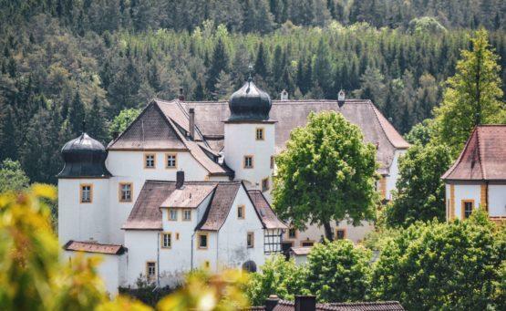 Burgenstraße Schloss Unteraufseß
