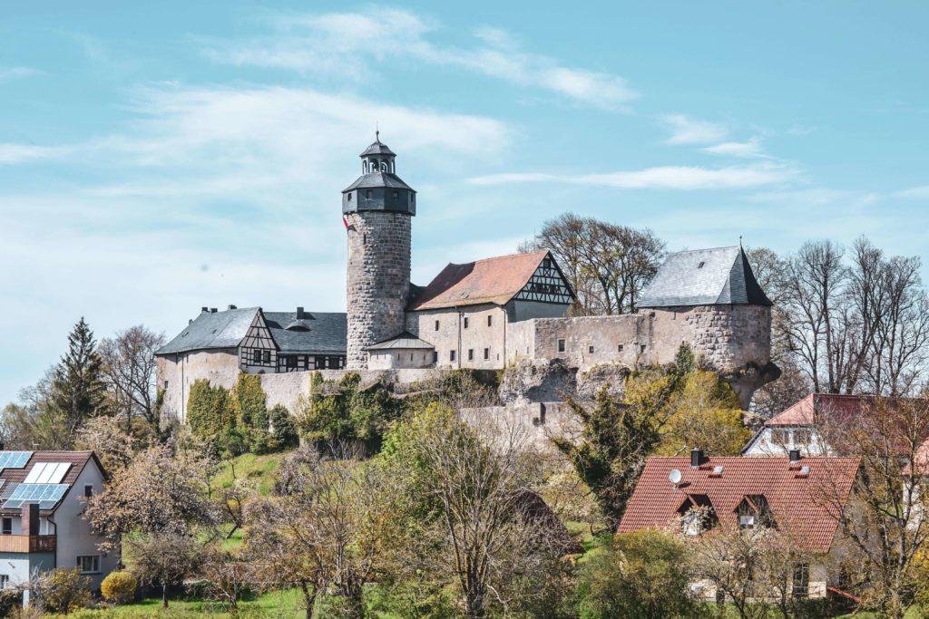 Burg Zwernitz Sanspareil Fraenkische Schweiz