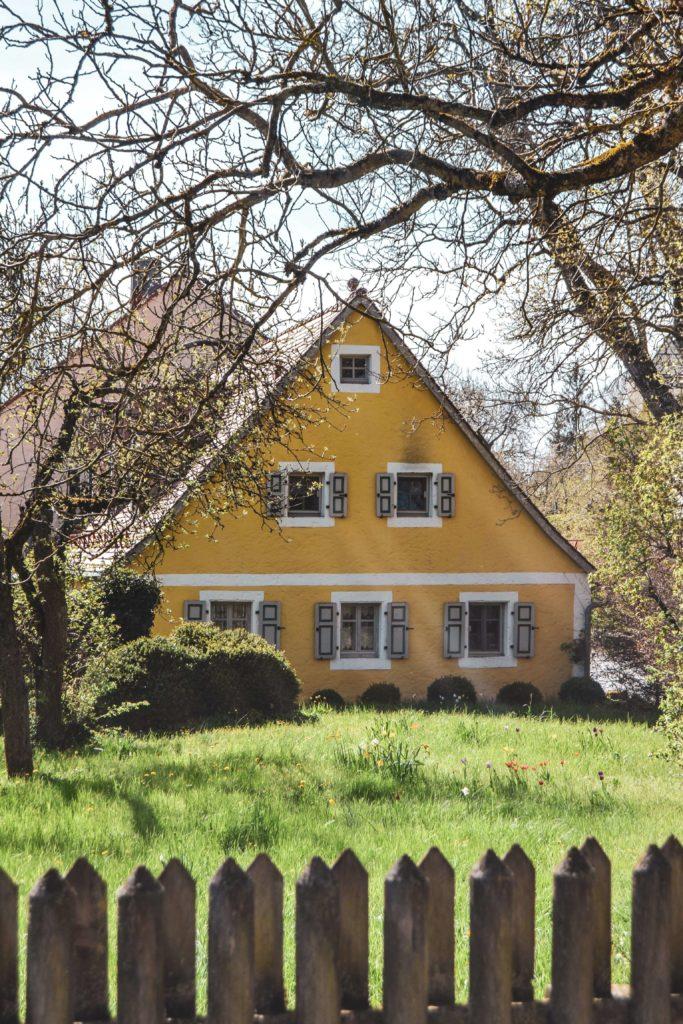 Gelbes Bauernhaus Sanspareil