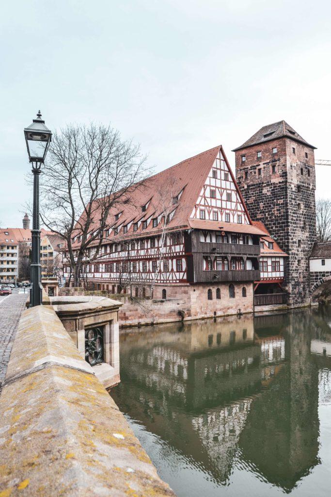 Maxbruecke Nuernberg Altstadt